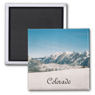 Mountain Photograph Magnet