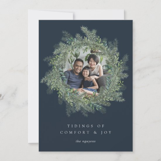 Mountain Pine | Holiday Photo Card