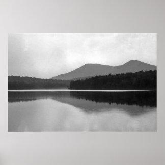 Mountain Pond Poster