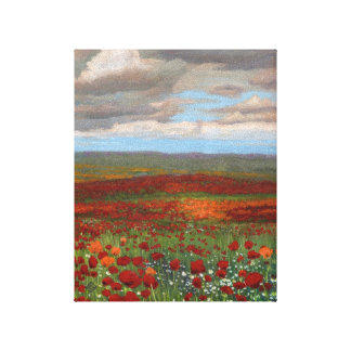 Mountain Poppies - Wrapped Giclee Canvas Print