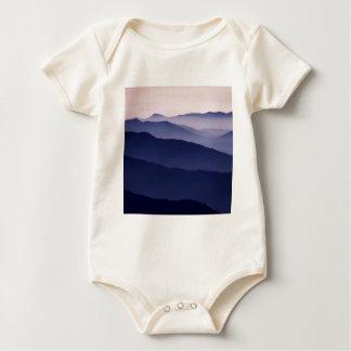Mountain Purple Majesty Sequoia Park Californi Baby Bodysuit