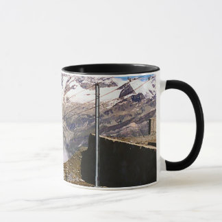 Mountain railway, Jungfrau region Mug