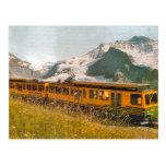 Mountain railway, Jungfrau region Postcards