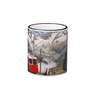 Mountain railway, Jungfrau region Ringer Mug
