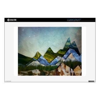 """Mountain Range 15"""" Laptop Decal"""