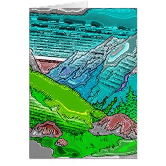 Mountain Range 5 Greeting Card