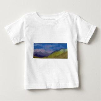 Mountain Range Art Baby T-Shirt