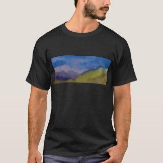 Mountain Range Art T-Shirt
