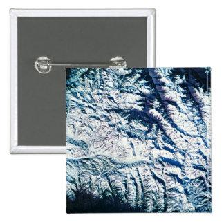 Mountain Range from Satellite Button