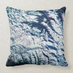 Mountain Range from Satellite Pillows