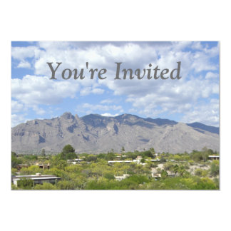 Mountain Range Invitations