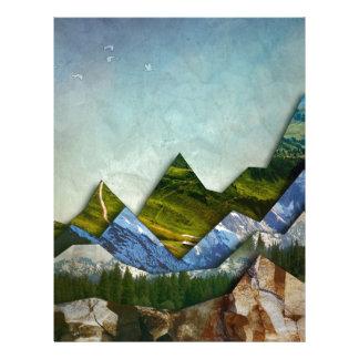 Mountain Range Letterhead
