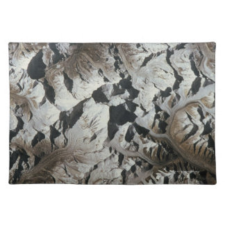 Mountain Range on Earth Cloth Placemat