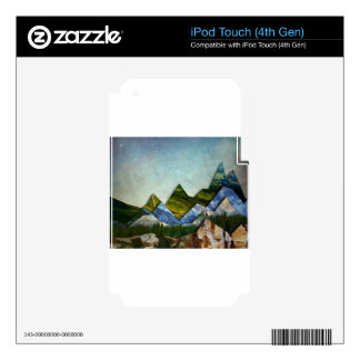 Mountain Range Skins For iPod Touch 4G