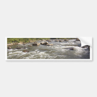 Mountain Rapids Bumper Sticker