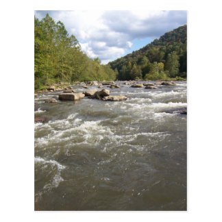 Mountain Rapids Postcard