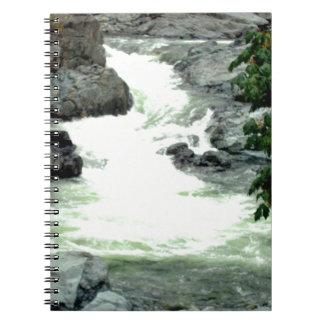 Mountain Rapids Spiral Notebook