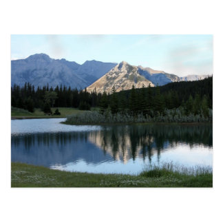 Mountain Reflection Postcard