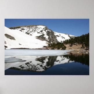 Mountain Reflection Poster