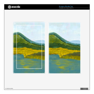 Mountain Reflection Skin For Kindle Fire