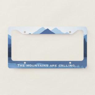 Adventure Awaits License Plate Frame Custom License Plate