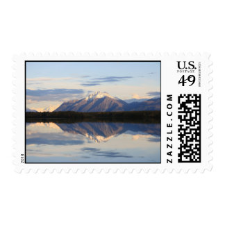Mountain Reflections in Alaska Stamps