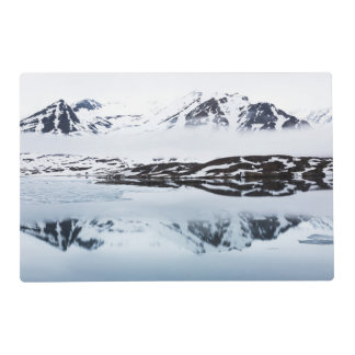Mountain reflections, Norway Placemat