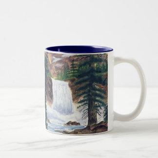 Mountain Retreat Two-Tone Coffee Mug