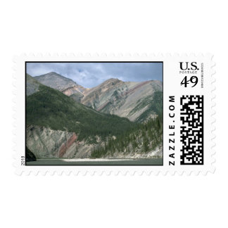 Mountain River and Mackenzie Mountains NWT Canad Postage Stamp