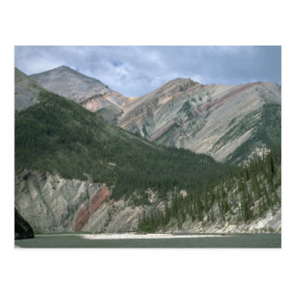 Mountain River and Mackenzie Mountains, NWT, Canad Postcard