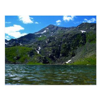 Mountain River Malaya Ulba postcard
