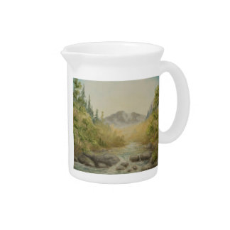 Mountain River Pitcher