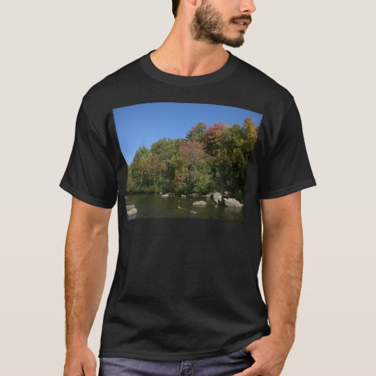 Mountain River Scene T-Shirt