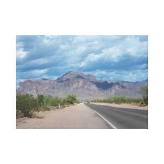 Mountain Road Canvas Print