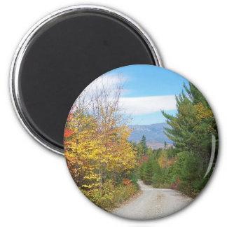 Mountain Road Fridge Magnet