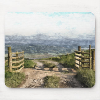 MOUNTAIN ROAD MOUSE PAD