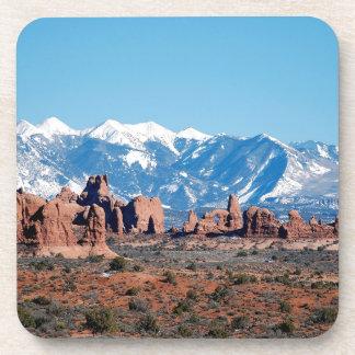 Mountain Rockys Desert Drink Coasters