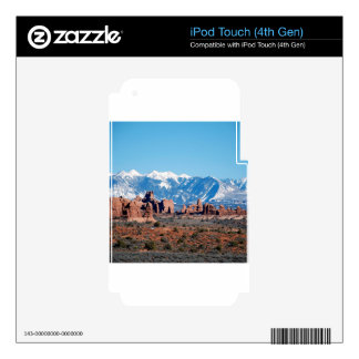 Mountain Rockys Desert iPod Touch 4G Decal
