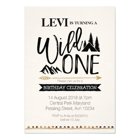 Mountain rustic wild one birthday invitation zazzle mountain rustic wild one birthday invitation stopboris Image collections
