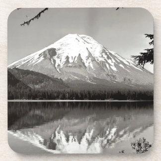 Mountain Saint Helens And Spirit Lake Coaster