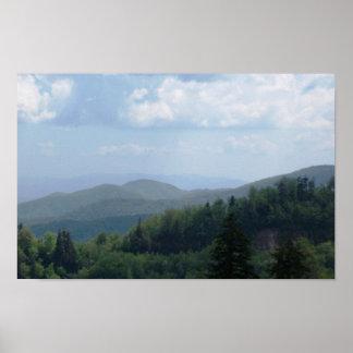 Mountain Scene 2 Poster