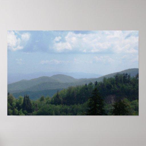 Mountain Scene 2 Print