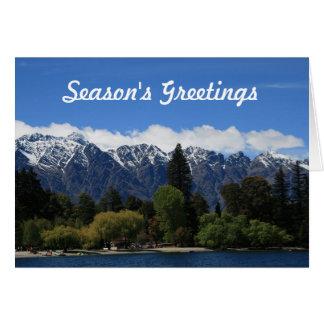 Mountain Scene Card