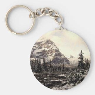 Mountain Scene II Keychain