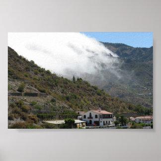 Mountain Scene Poster