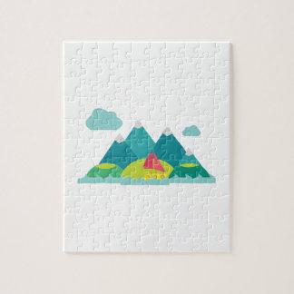Mountain Scene Puzzles