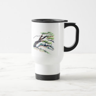Mountain Scenes, Sumi-e in color Travel Mug