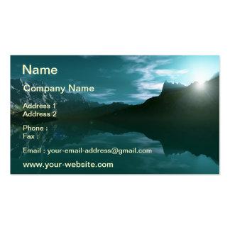 Mountain Sea Business Card
