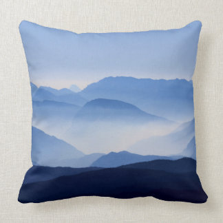 Mountain Shades Throw Pillow
