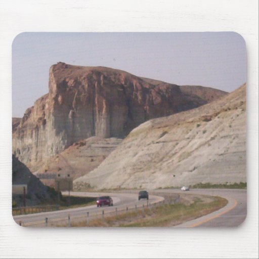 Mountain Side Mouse Pad